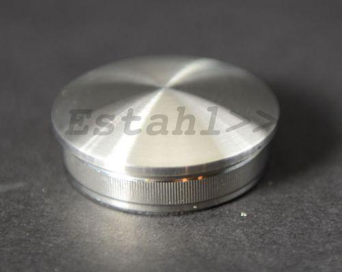 V2A - Embout en inox pour tube Ø 42,4 mm