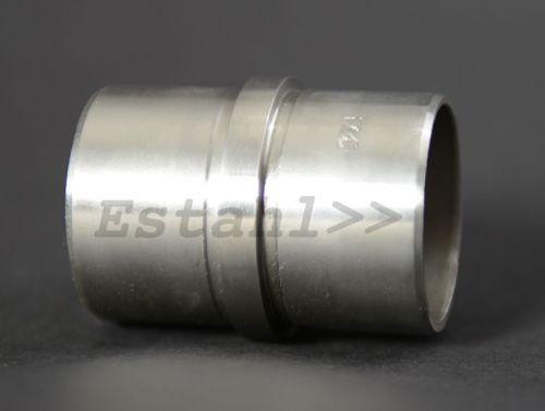 V2A - Edelstahl Verbindungsmuffe für Ø 42,4 mm