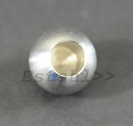 V2A - Vollkugel Ø 20 mm - Bohrung 14,2 mm