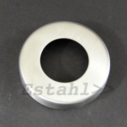 V2A-rosette for pipe diameter Ø 43 mm