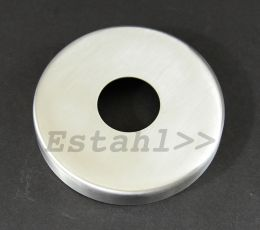 V2A-Rosette für Rohrdurchmesser Ø 12 mm