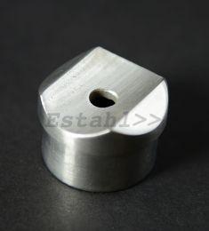V2A - Rohrsattel für Rundrohr Ø 42,4 mm