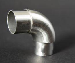 V2A - Bogen 360° drehbar für Rohrdurchmesser 42,4 mm