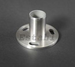 V2A-Einpressflansch für 42,4 x 2,0 mm Rohr