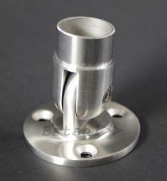 V2A - Wandhalter, flexibel für Rohrdurchmesser 42,4 mm