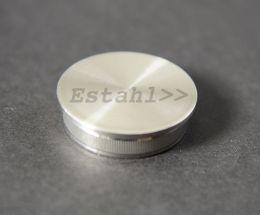 V2A - Endkappe für Rohrdurchmesser Ø 42,4 mm