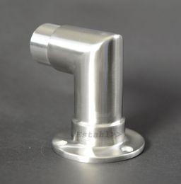 V2A - Wandhalterung mit 90° als Ecke für Rohrdurchmesser 42,4 mm